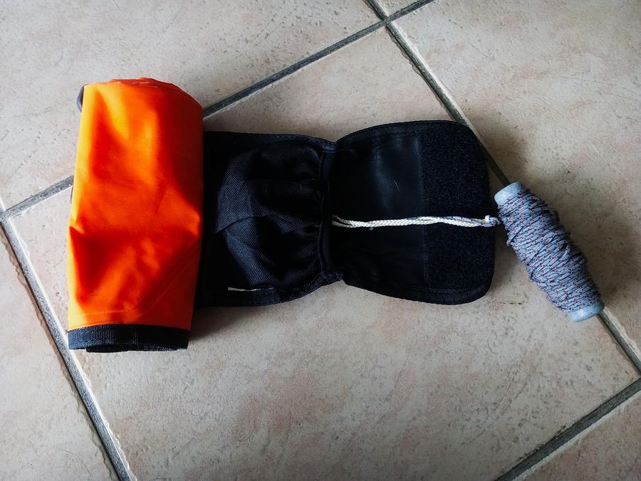 cordelette du parachute de palier