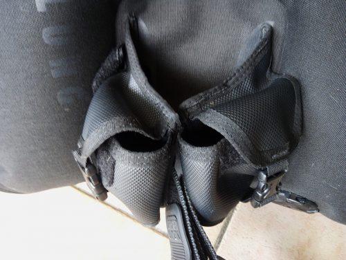 poches à plomb arrières