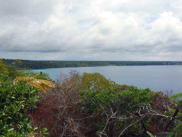 PMT le 7 janvier 2017 Baie de Jinek à Lifou