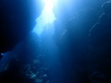 Plongée le 14 février 2017 aux grottes de Secret à Bourail