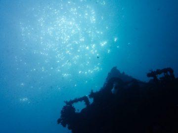 Plongée le 25 juin 2020 sur l'épave du Toho II à Nouméa