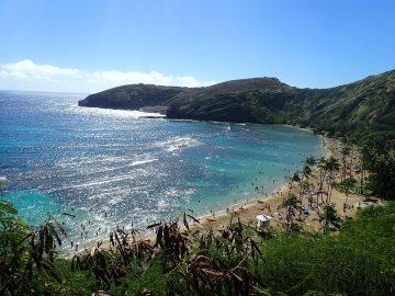 PMT le 27 décembre 2018 à Hanauma Bay à Hawai'i
